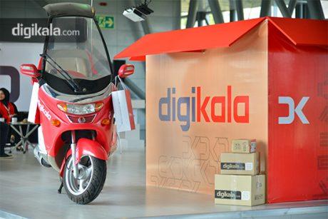 پیک موتوری دیجی کالا | بازاریابی برند | برندگاه